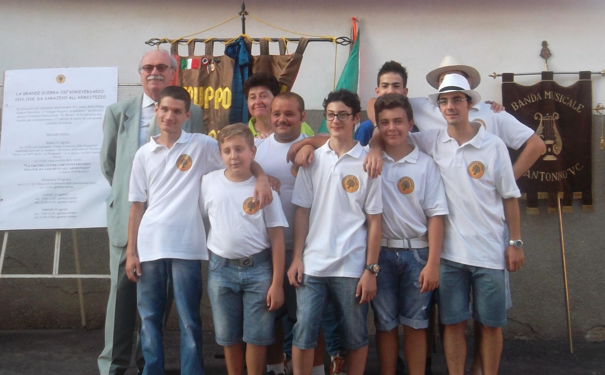 Il Gruppo Ragazzi S. Antonino